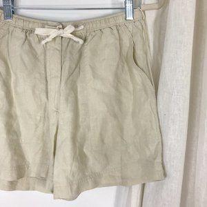 Lauren RALPH LAUREN Khaki Linen Shorts Summer